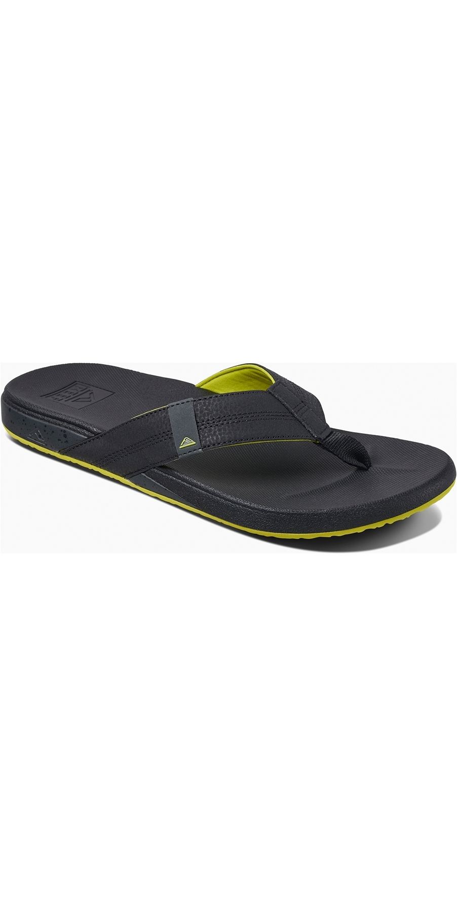 7f1d9397161 Reef Mens Cushion Bounce Phantom Flip Flops Grey/Green RF0A3FDI | Footwear  | Wetsuitoutlet | Wetsuit Outlet