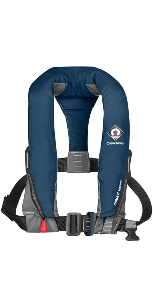 2020 Crewsaver Crewfit 165N Sport Automatic With Harness Lifejacket Navy 9015NBA