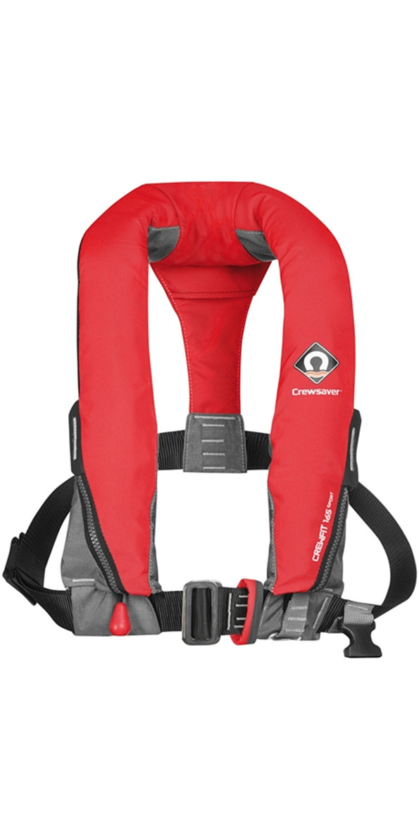 2020 Crewsaver Crewfit 165N Sport Automatic With Harness Lifejacket Red 9015RA