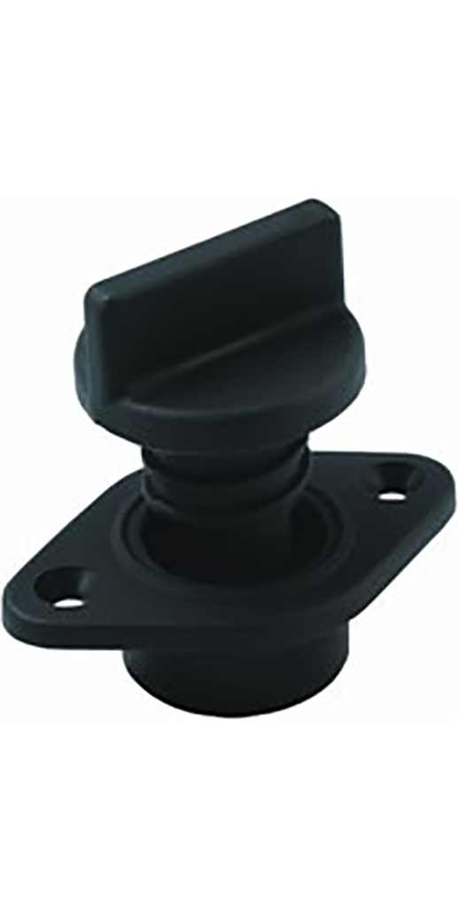 Allen Brothers Drain Socket With Captive Screw Bung Black A323