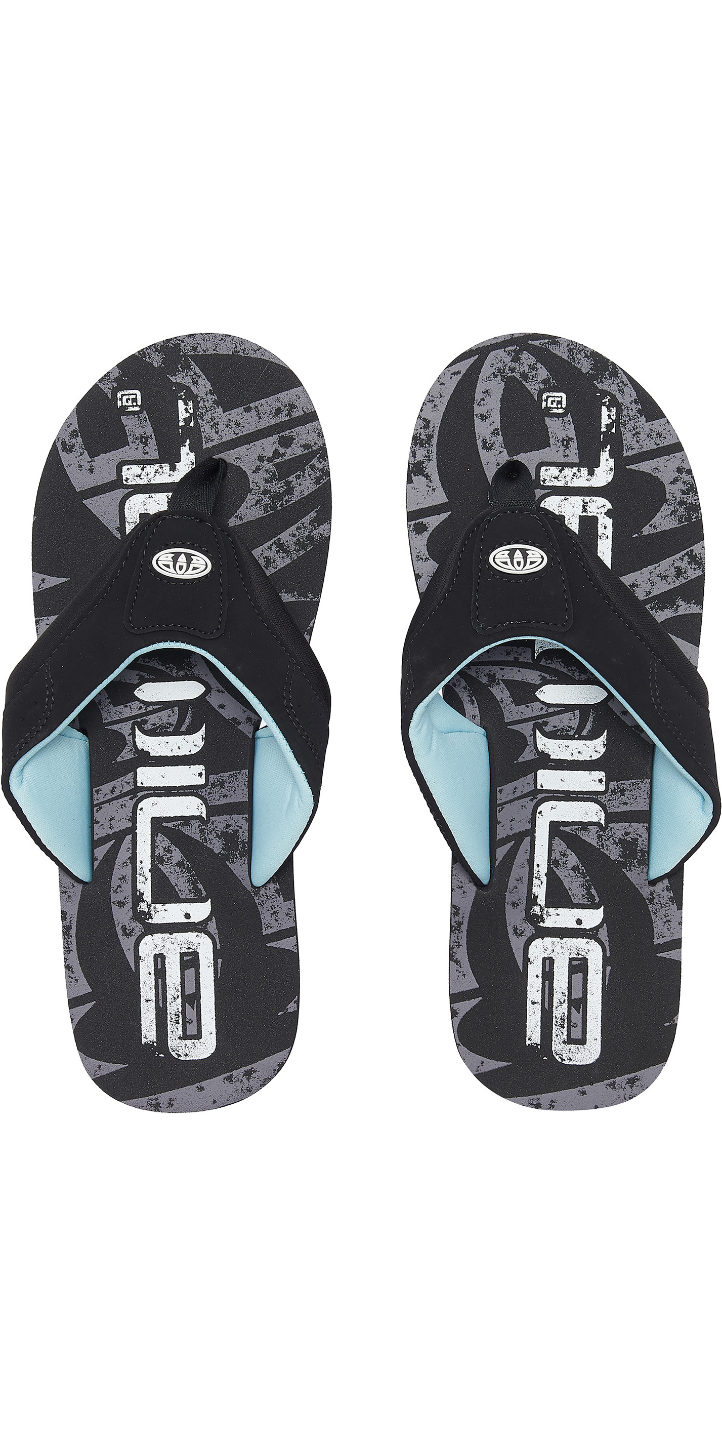 f60c30c4e493 2019 Animal Mens Jekyl Logo Mens Flip Flops Black Fm9sq007 - Flip Flops -  Footwear - by