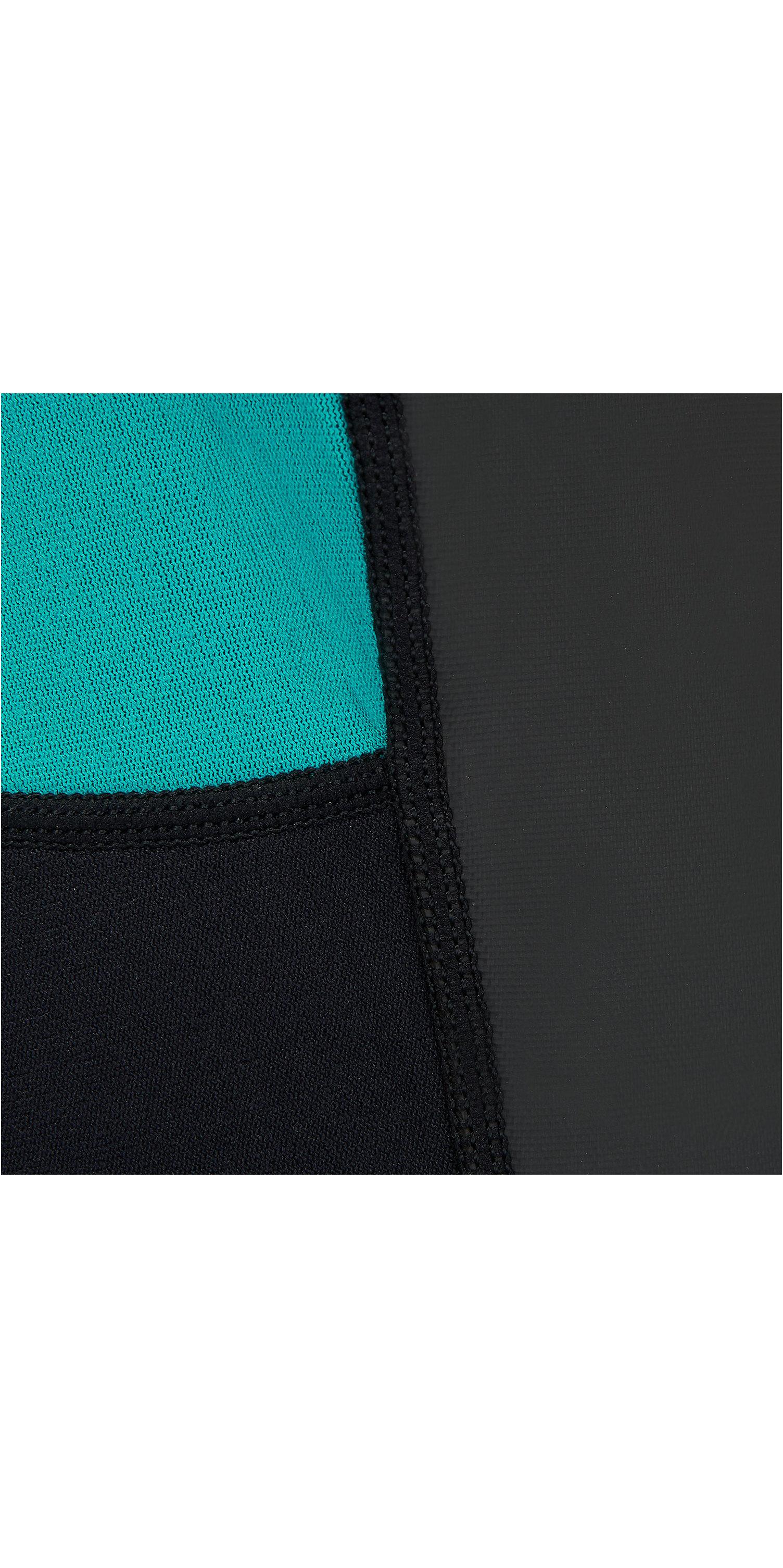 2019 Animal Womens Nova 3/2mm Flatlock Shorty Wetsuit Black AW9SQ303