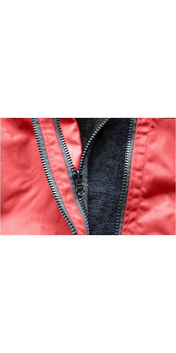 2020 Northcore Beach Basha Pro 4 Season Changing / Poncho Robe RED NOCO24J