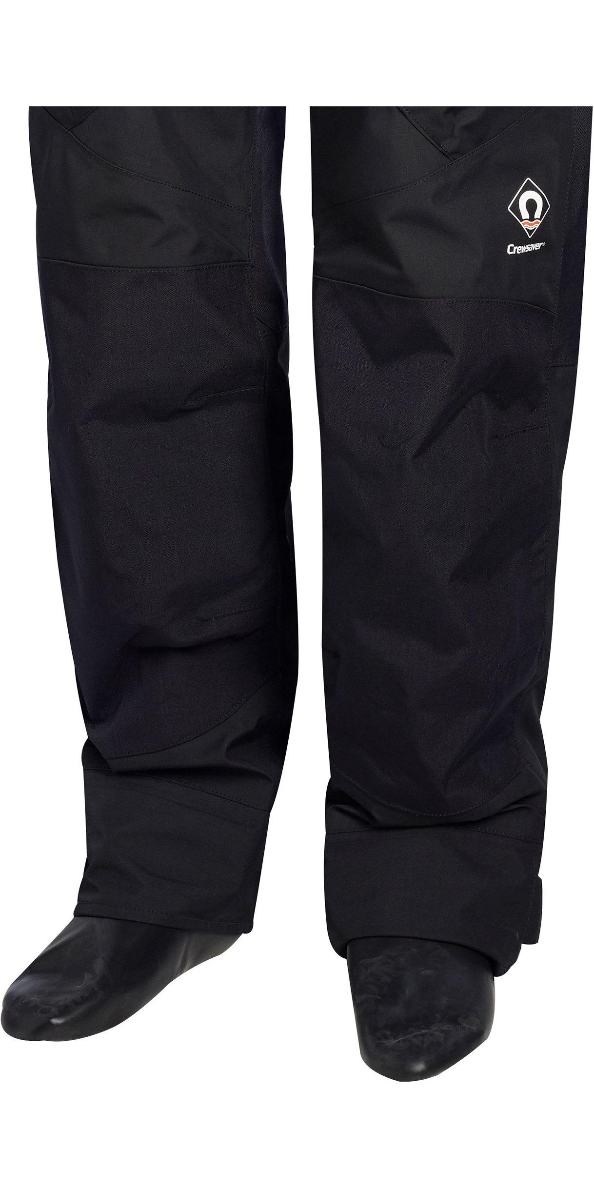 2019 Crewsaver Junior Atacama Pro Drysuit INCLUDING UNDERSUIT BLACK 6556J