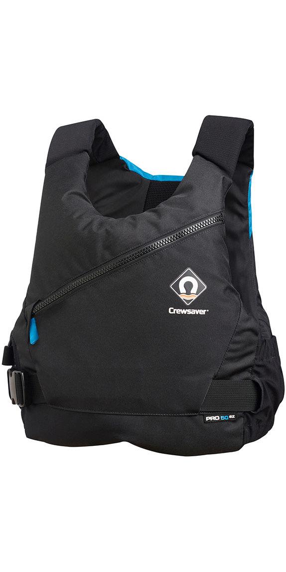 2020 Crewsaver Pro 50N Side Zip Buoyancy Aid Black / Blue 2620