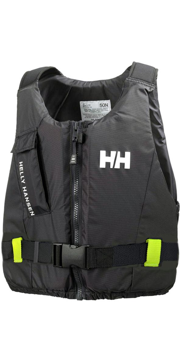 2018 Helly Hansen 50N Rider Vest / Buoyancy Aid Ebony 33820