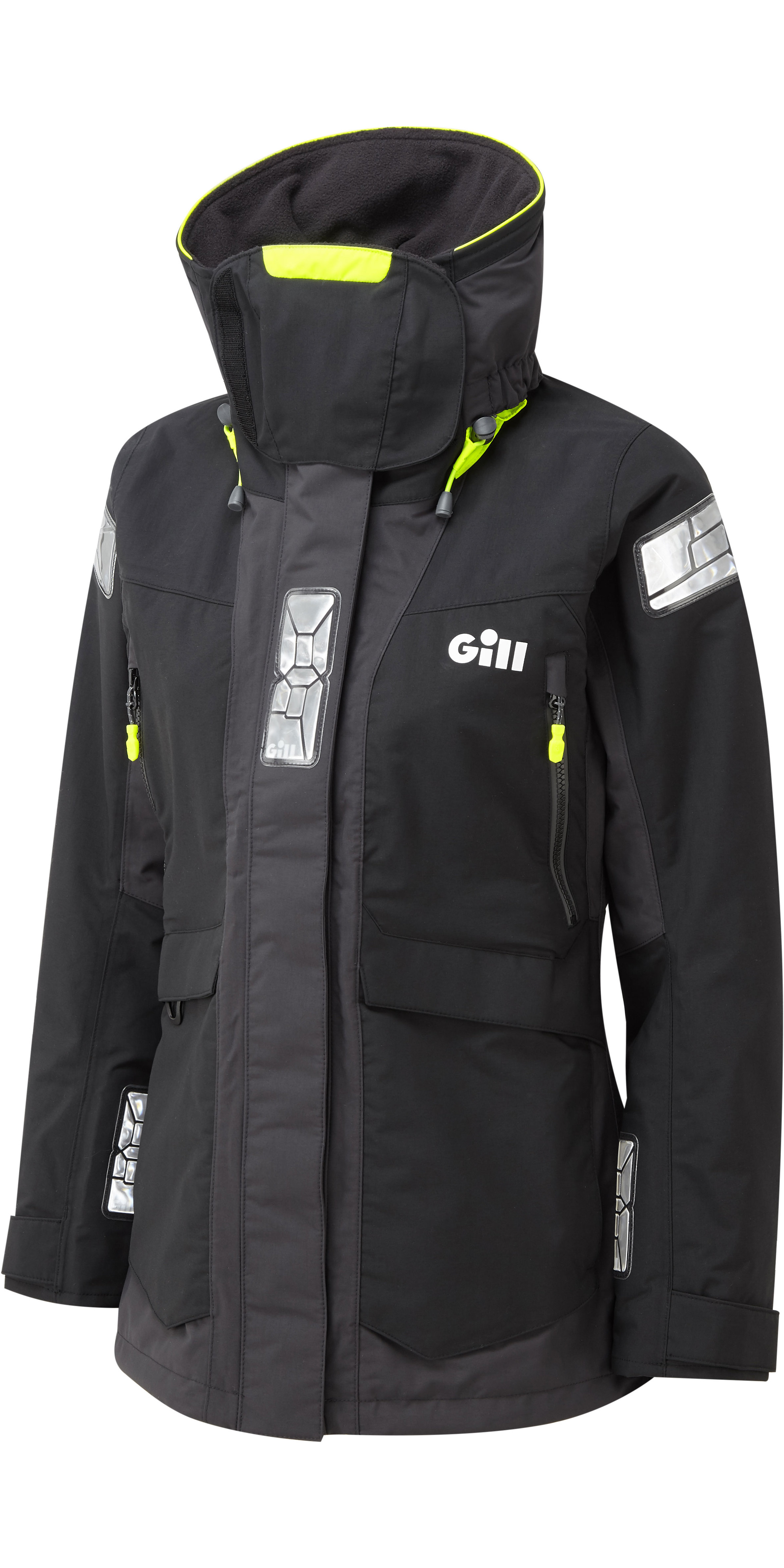 2020 Gill OS2 Womens Offshore Jacket Black OS24JW