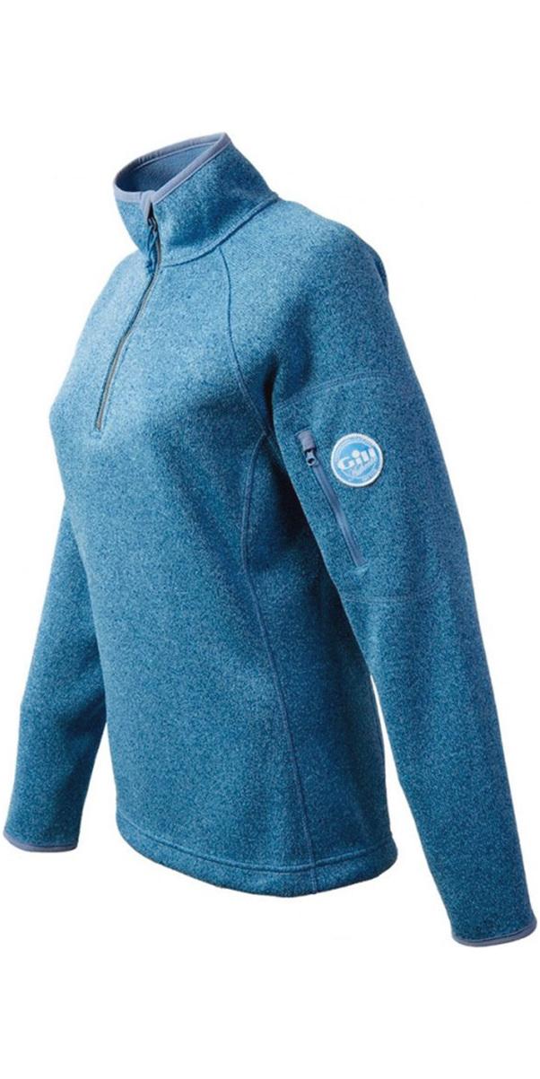 2018 Gill Womens Knit Fleece in Blue Melange 1491W