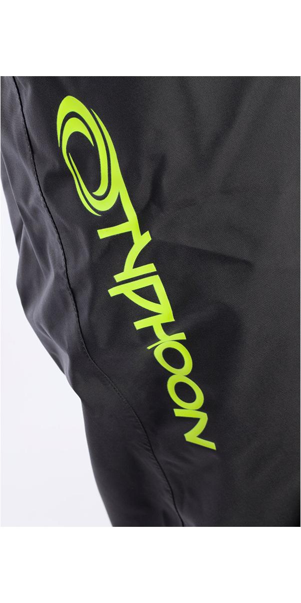 2019 Typhoon Hypercurve 4 Back Zip Drysuit with Socks & Underfleece Teal / Grey 100170