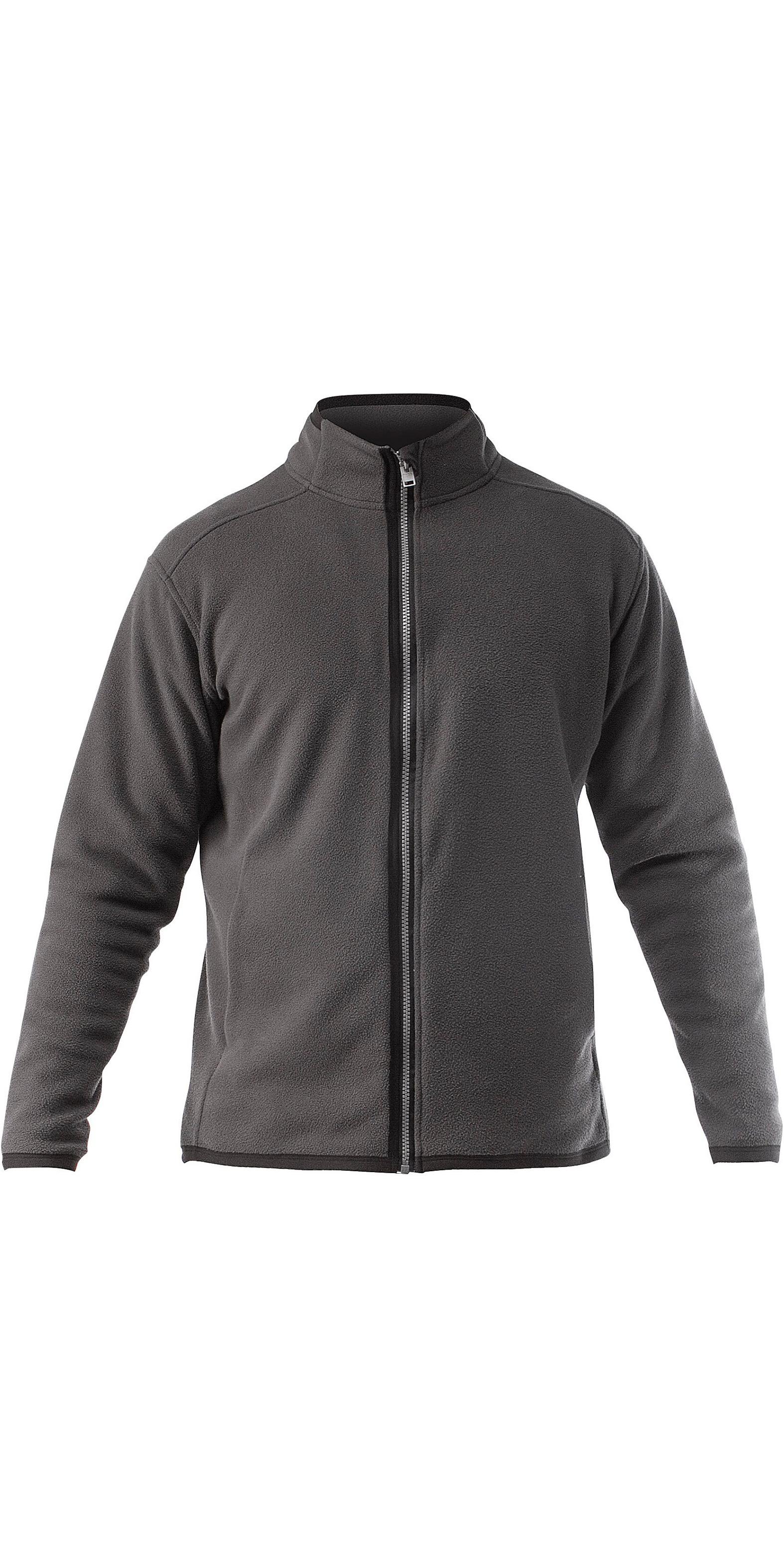 2020 Zhik Mens Zip Fleece Jacket Dark Grey JKT0030