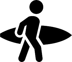 Surfer icon
