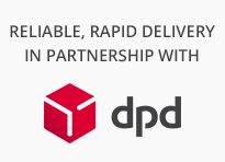 Reliable, Rapid Delivery in partnership with DPD