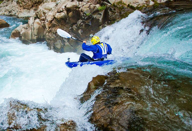 Whitewater kayaking kit