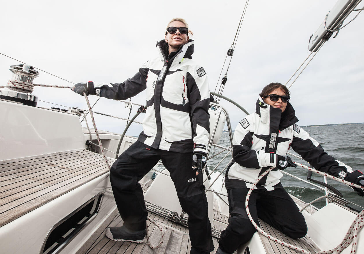 Sailing jackets and trousers up to 50% off
