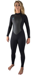2020 O'Neill Womens Reactor II 3/2mm Back Zip Wetsuit BLACK 5042