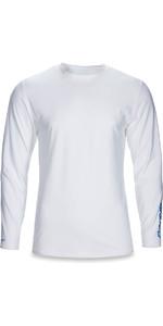 2018 Dakine Heavy Duty Loose Fit Long Sleeve Surf Shirt White 10001653