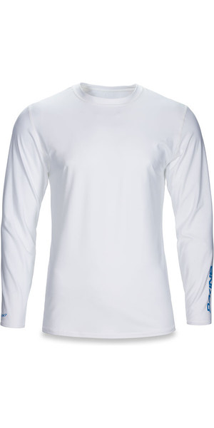 2018 Dakine Heavy Duty Loose Fit Long Sleeve Surf Shirt White 10001653