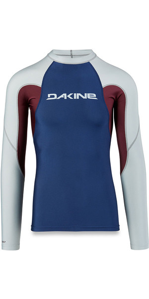 2018 Dakine Heavy Duty Snug Fit Long Sleeve Rash Vest Resin 10001655