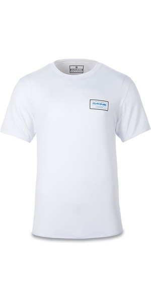 2018 Dakine Inlet Loose Fit Short Sleeve Top White 10001659