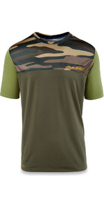 Dakine Intermission Loose Fit Short Sleeve Surf Shirt Field Camo 10001660