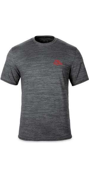 2018 Dakine Roots Loose Fit Short Sleeve Surf Shirt Black Heather 10001664