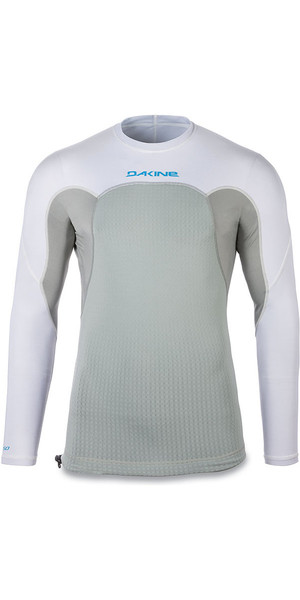 2018 Dakine Storm Snug Fit Long Sleeve Rash Vest White 10001666