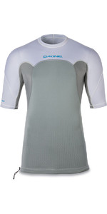 Dakine Storm Snug Fit Short Sleeve Rash Vest White 10001667