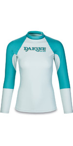 2018 Dakine Womens Flow Snug Fit Long Sleeve Rash Vest Bay Islands 10001678