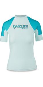 Dakine Womens Flow Snug Fit Short Sleeve Rash Vest Bay Islands 10001680