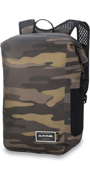 2018 Dakine Cyclone 32L Roll Top Waterproof Back Pack Camo 10001825