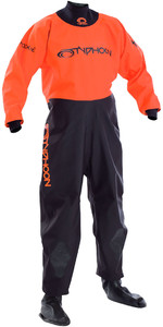 2019 Typhoon Junior Rookie Drysuit Neoprene Socks Black / Orange 100171