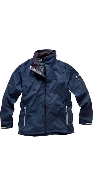 2018 Gill Men's Crew Jacket in Navy 1041