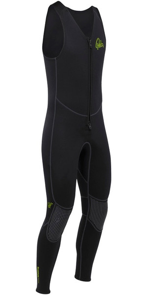 2019 Palm Quantum 3mm Neoprene Front Zip Long John BLACK 12235
