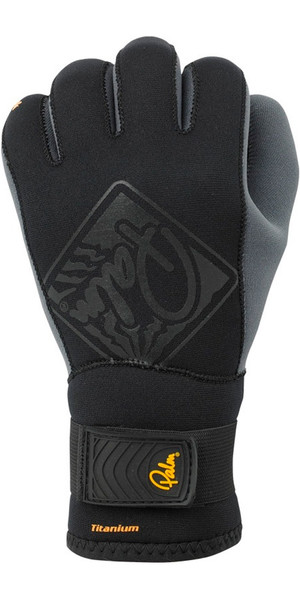 2018 Palm 3mm Hook Neoprene Kayak Glove Black 10499
