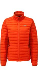 2021 Gill Womens Hydrophobe Down Jacket Orange 1065W