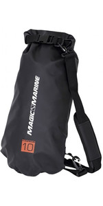 2020 Magic Marine Waterproof Duffle Bag 10L Black 120830