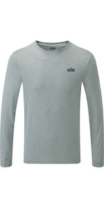2019 Gill Mens Holcombe Crew Base Layer Grey 1100