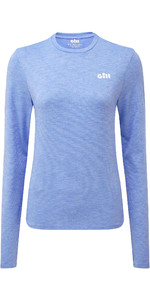 2019 Gill Womens Holocombe Crew Base Layer Sky 1100W