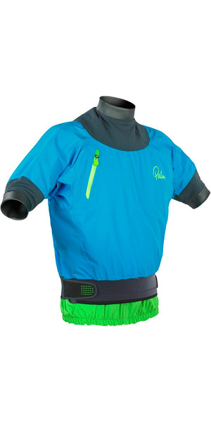 2018 Palm Zenith Short Sleeve Whitewater Jacket Aqua 11442