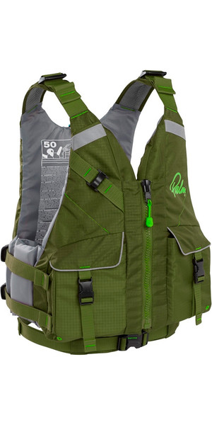 2018 Palm Hydro Adventure PFD Buoyancy Aid OLIVE 11464