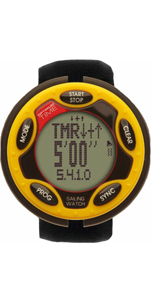 2019 Optimum Time Series 14 Rechargeable Sailing Watch YELLOW 1455R