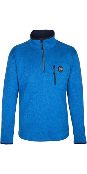 2018 Gill Mens Knit Fleece Blue 1492