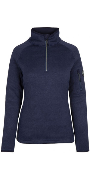 2018 Gill Womens Knit Fleece Navy 1492W