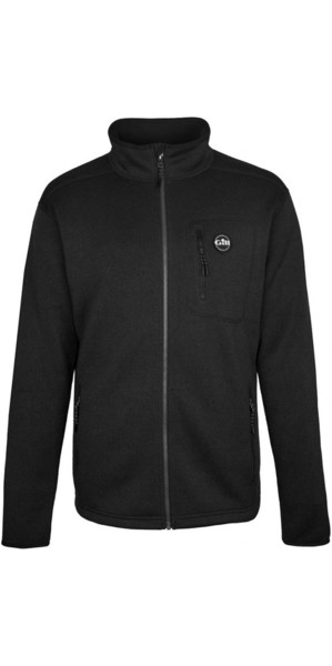2018 Gill Mens Knit Fleece Jacket Graphite 1493