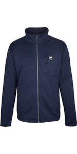 2019 Gill Mens Knit Fleece Jacket Navy 1493