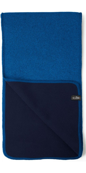 2019 Gill Knit Fleece Scarf Blue 1496