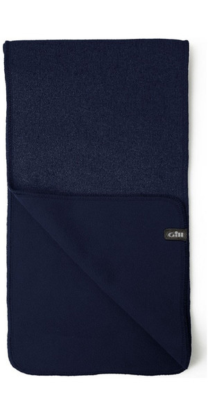 2018 Gill Knit Fleece Scarf Navy 1496