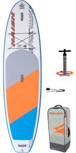 2020 Naish Nalu 10'6 Stand Up Paddle Board Package - Board, Bag, Pump & Leash 15120