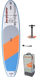 2020 Naish Nalu 11'6 Stand Up Paddle Board Package - Board, Bag, Pump & Leash 15130
