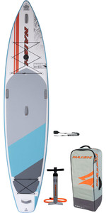 2020 Naish Glide Fusion 12'6 Stand Up Paddle Board Package - Board, Bag, Pump & Leash 15180